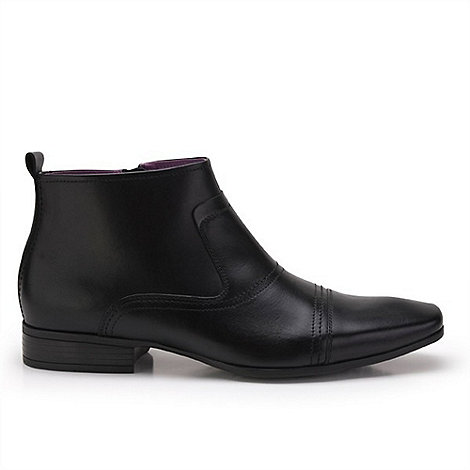 Azor - Black faraday formal zip boots