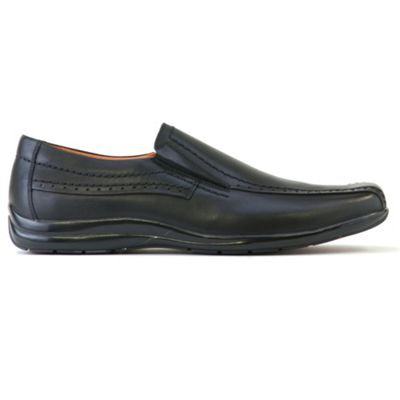 Azor Black pebble casual loafer shoes - . -