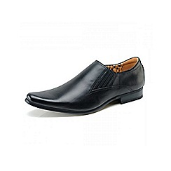 Front - Black 'Enzo fr698' formal shoes