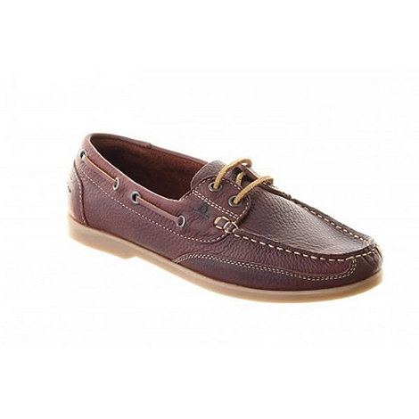 Chatham - Brown julie boat shoes
