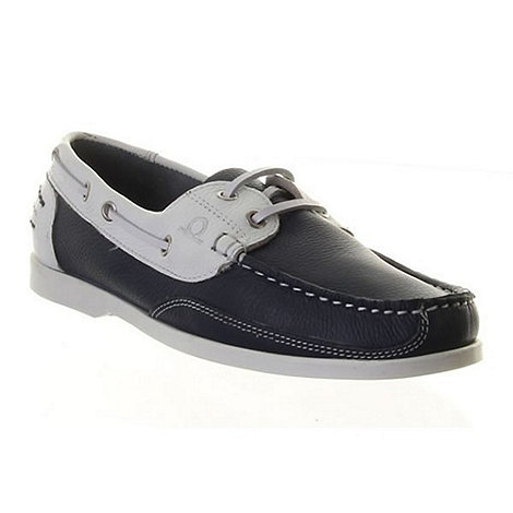 Chatham - Navy/white julie boat shoes