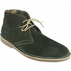 Ikon - Olive gobi casual boots