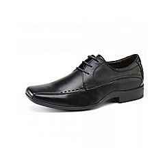 Front - Mens black 'Ryton fr6981' formal shoes