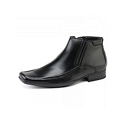 Front - Black 'Caterick' fashion boots