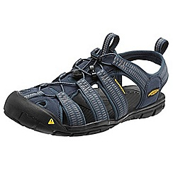 Keen - Blue mens 'Clearwater Cnx' gargoyle sport sandals
