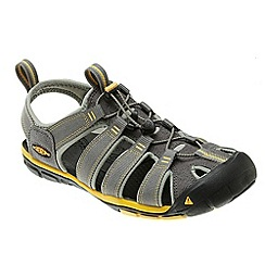 Keen - Gargoyle/Super lemon 'Clearwater Cnx' sports sandals