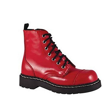 TUK - Red ankle boots