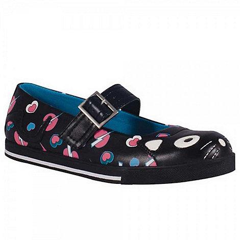 TUK - Black kitty mary jane flats ballerinas shoes