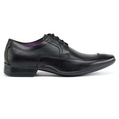Azor Black frezier formal shoes - . -