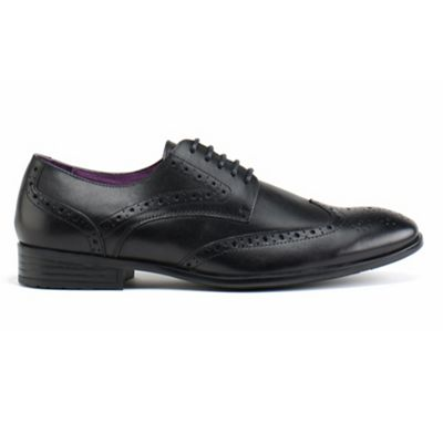 Azor Black burford formal shoes - . -