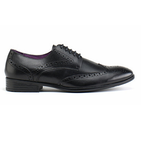 Azor - Black burford formal shoes