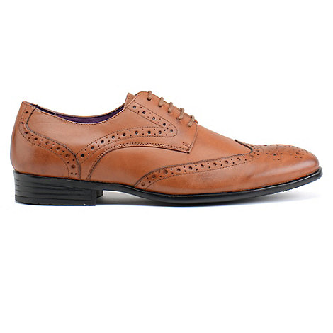 Azor - Mens tan +Burford+ formal shoes
