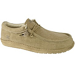 Hey Dude - Beige 'Wally' canvas