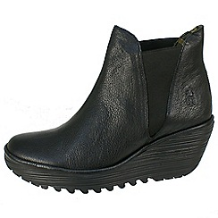 Fly London - Black yoss ankle boots