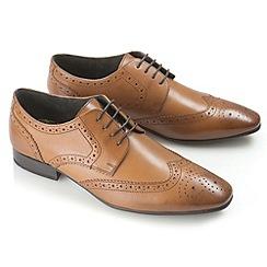 Ikon - Tan statham fashion lace shoes