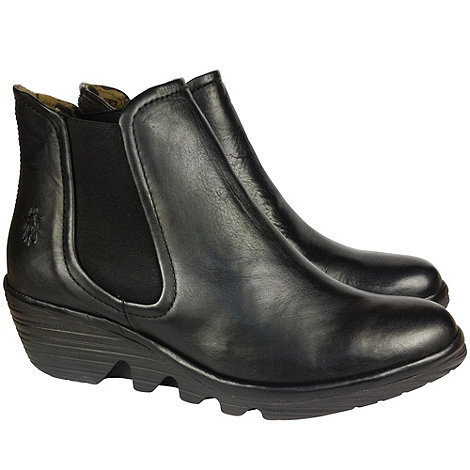 Fly London - Black phil womens ankle boots