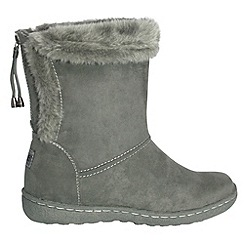 Pixie - Grey becky mid boots