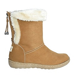 Pixie - Camel becky mid boots
