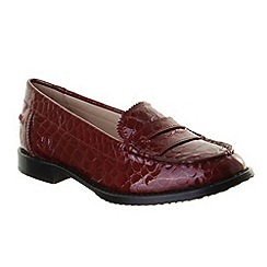 Chatham - Womens red milano casual shoes