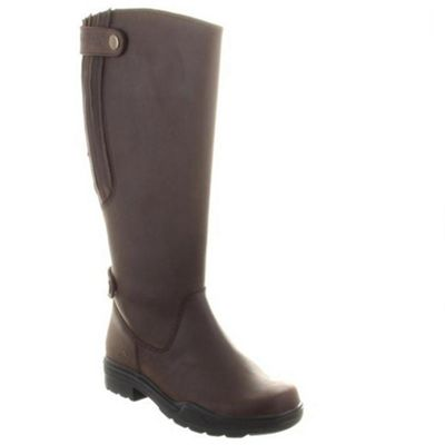 Chatham Brown duchess quality round toe twin strap riding boot - . -