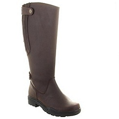Chatham - Brown duchess quality round toe twin strap riding boot