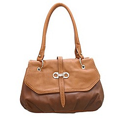 Pixie - Womens brown/tan monroe bags