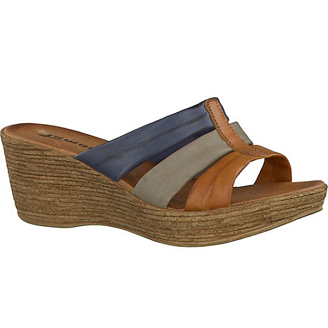Tamaris - Womens multi wedge sandals
