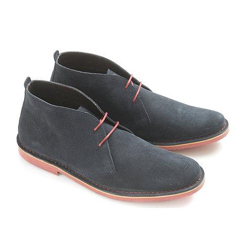 Ikon - Navy +Ak+ desert boot casual boots