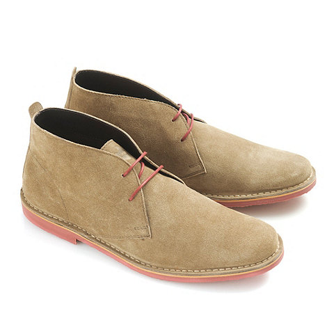 Ikon - Mens Taupe +Ak+ desert boot casual boots