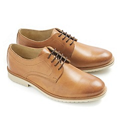 Ikon - Tan 'Pecan' formal shoes