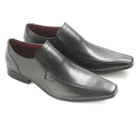 Ikon - Black +Flood+ loafers moccs shoes