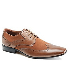 Front - Tan/Brown formal shoes