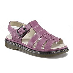 Dr Martens - Grape 'Elate carolyn' sandals