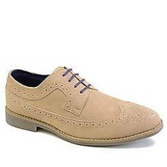 Front - Sand Fadden fashion lace shoes