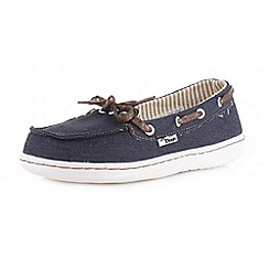 Hey Dude - Dark blue 'Moka' denim canvas shoes