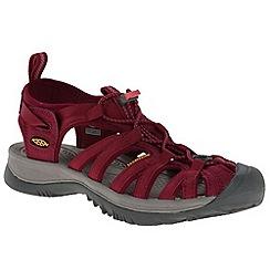Keen - Red keen 'Whisper' sports sandals