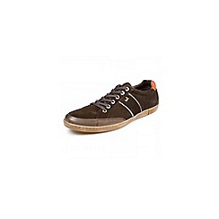 Pod - Brown 'Kyle' fashion lace casual shoes
