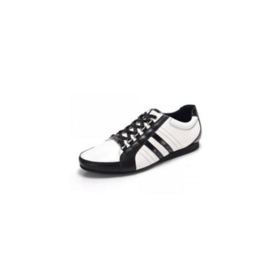Bamboo A Black/White ´Carducci´ sports trainer - . -