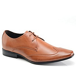 Front - Tan formal shoes