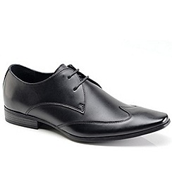 Front - Black formal shoes
