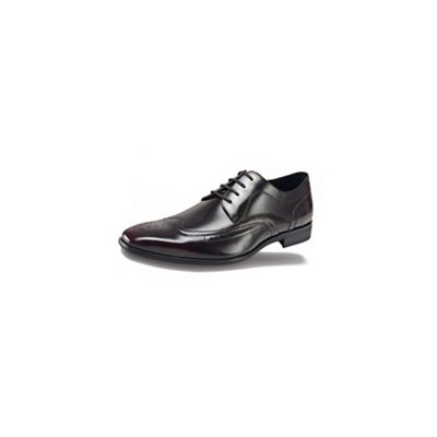 Azor Black/Red formal shoes - . -