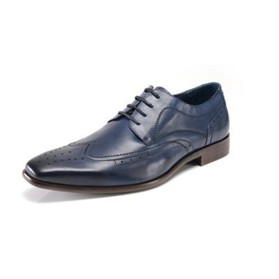 Azor blue formal shoes - . -
