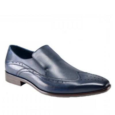 Azor blue formal shoe - . -
