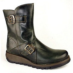 Fly London - Womens diesel Seti ankle boots