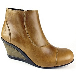 Fly London - Camel Jocy Ankle Boots