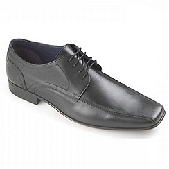 Ikon - Black Scott formal derby shoes