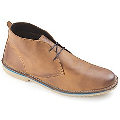 Ikon - Tan Luger fashion desert boot
