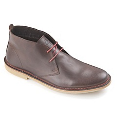 Ikon - Brown Luger fashion desert boot