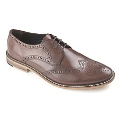 Ikon - Brown Pace fashion derby brogue