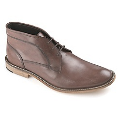 Ikon - Mens Brown Hale fashion chukka boot